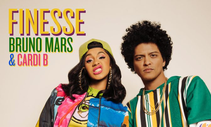Bruno Mars and Cardi B Finesse