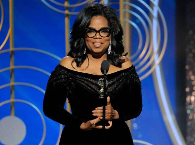 Oprah Winfrey's Golden Globe Award Acceptance Speech