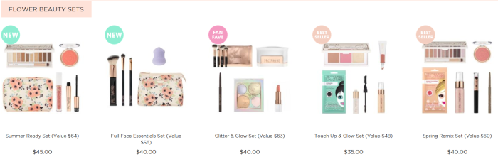 Flower Beauty Sets