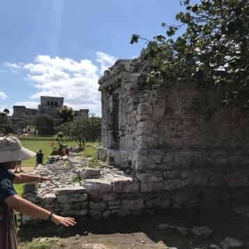 Ruins of Mayan Home