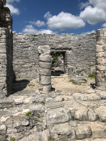 Mayan Temple Tulum Mexico