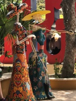 Art installations in Tulum