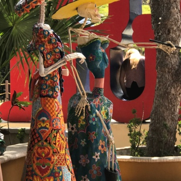 Art installations in Tulum