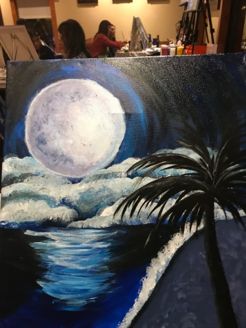 My finished Indigo Beach