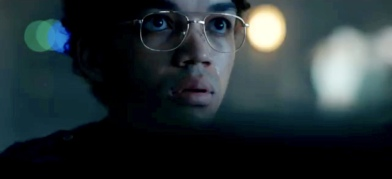 Franklin Webb played by Justice Smith