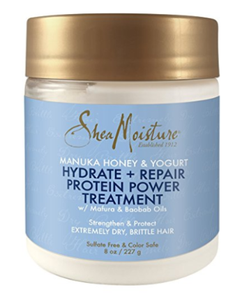 Shea Moisture hydrate and repair protein treatment