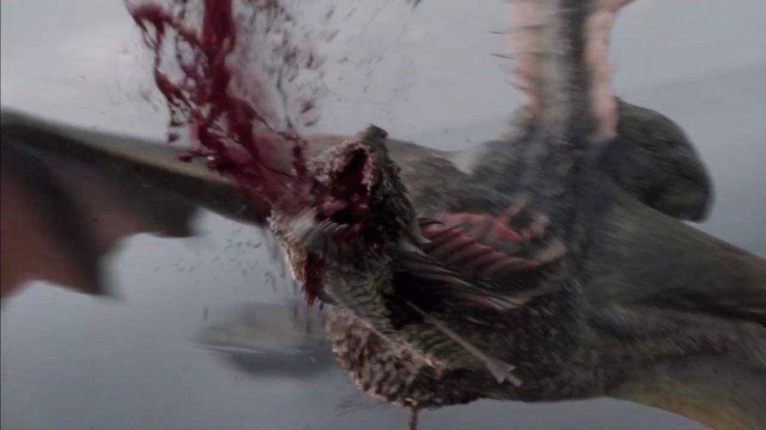 rhaegal dies